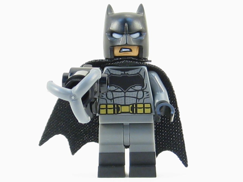 LEGO DC Super Heroes Batman Minifigure Mini Fig Black Boots 76046