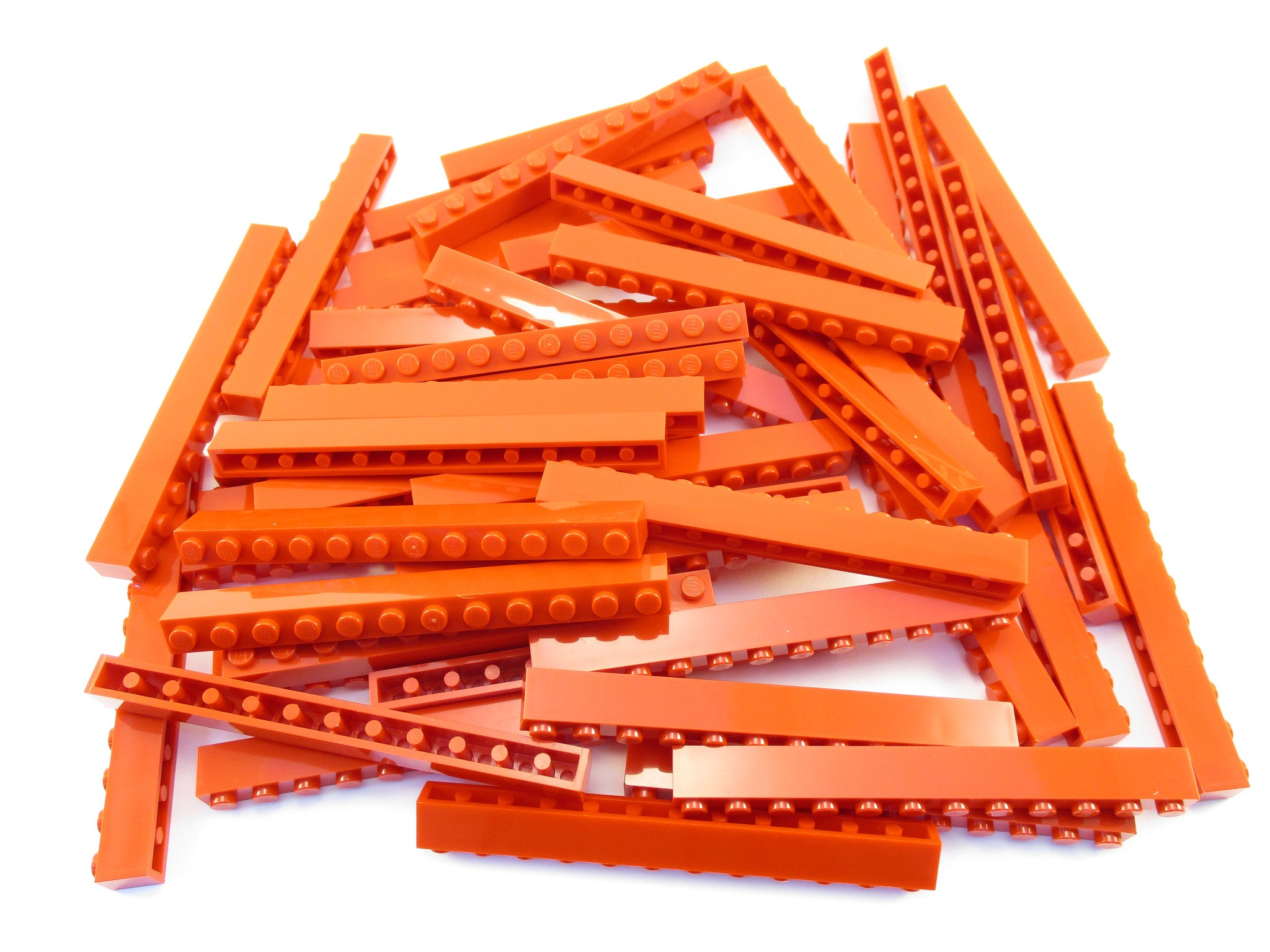 LEGO Red Brick 1x12 Lot of 50 Parts Pieces 6112
