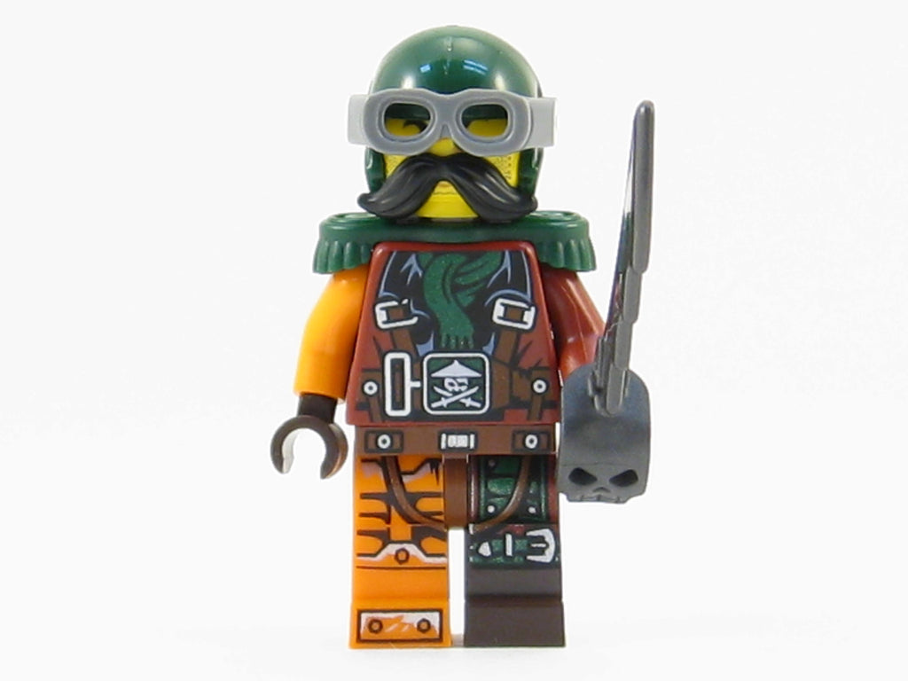 LEGO Ninjago Skybound General Flintlocke Minifigure Sky Pirate NEW 2016
