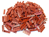 LEGO Dark Red Plate 1x4 Lot of 100 Parts Pieces 3710