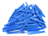 LEGO Blue Plate 1x10 Lot of 50 Parts Pieces 4477