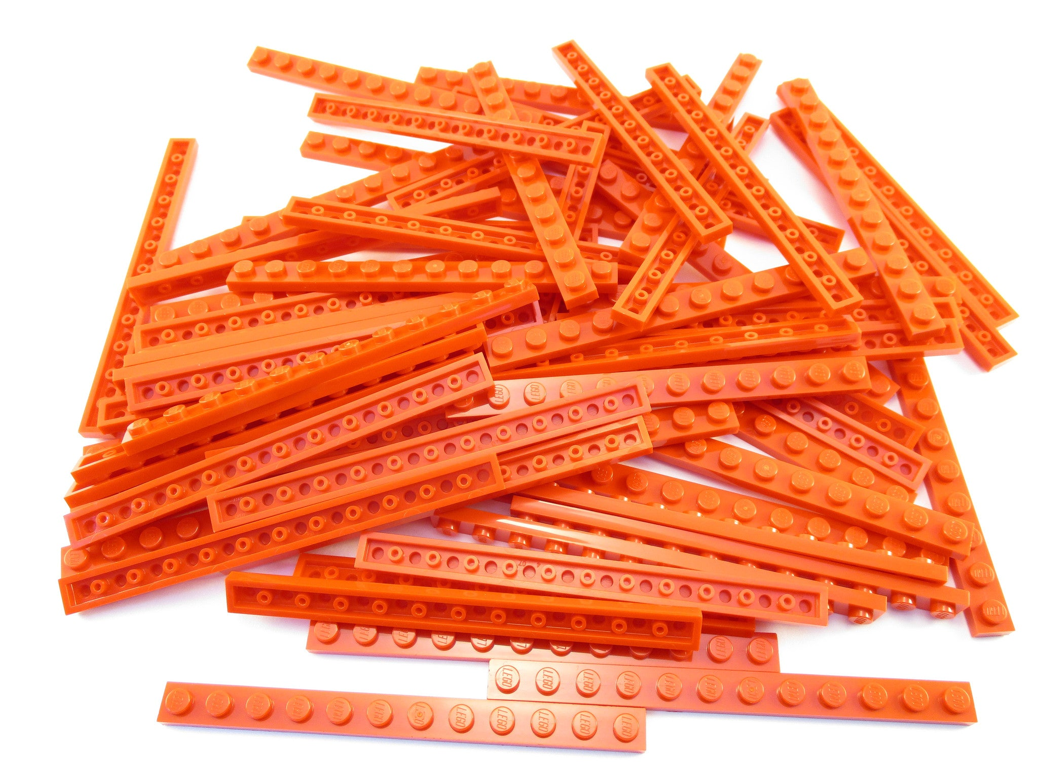LEGO Red Plate 1x12 Lot of 50 Parts Pieces 60479