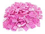 LEGO Dark Pink Plate 2x3 Lot of 100 Parts Pieces 3021