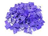 LEGO Dark Purple Plate 2x3 Lot of 100 Parts Pieces 3021