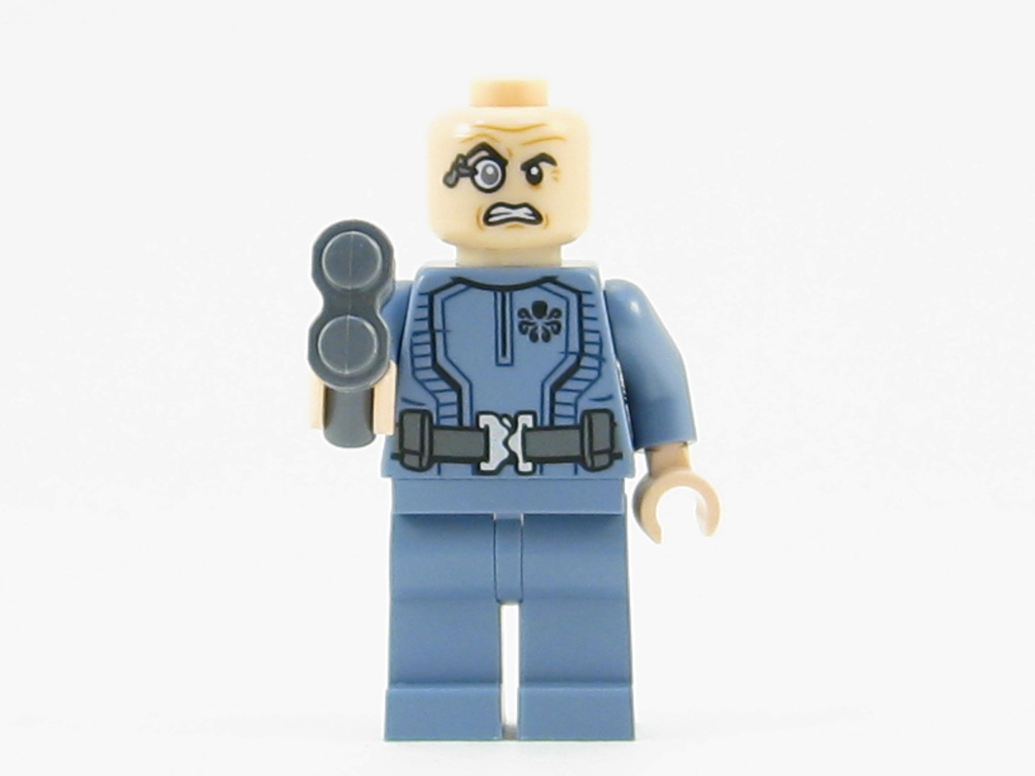 LEGO Marvel Super Heroes Baron Von Strucker Minifigure Mini Fig