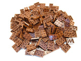 LEGO Reddish Brown Plate 2x3 Lot of 100 Parts Pieces 3021