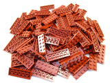LEGO Dark Red Plate 2x6 Lot of 100 Parts Pieces 3795