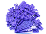 LEGO Dark Purple Plate 2x10 Lot of 50 Parts Pieces 3832