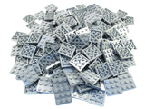 LEGO Dark Bluish Grey Plate 3x3 Lot of 50 Parts Pieces 11212 Gray