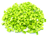 LEGO Lime Slope 45 2x1 Lot of 100 Parts Pieces 3040