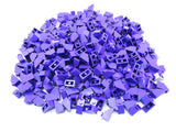 LEGO Dark Purple Slope 45 2x1 Lot of 100 Parts Pieces 3040