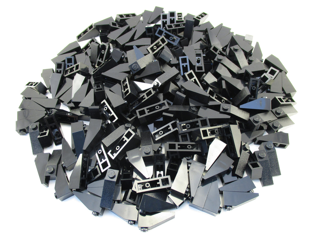 LEGO Black Slope 33 3x1 Lot of 100 Parts Pieces 4286