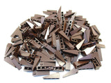 LEGO Dark Brown Slope 18 4x1 Lot of 100 Parts Pieces 60477