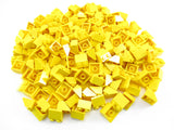 LEGO Yellow Slope 45 2x2 Lot of 100 Parts Pieces 3039