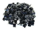 LEGO Black Slope 45 2x2 Lot of 100 Parts Pieces 3039