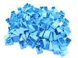 LEGO Dark Azure Slope 33 3x2 Lot of 100 Parts Pieces 3298