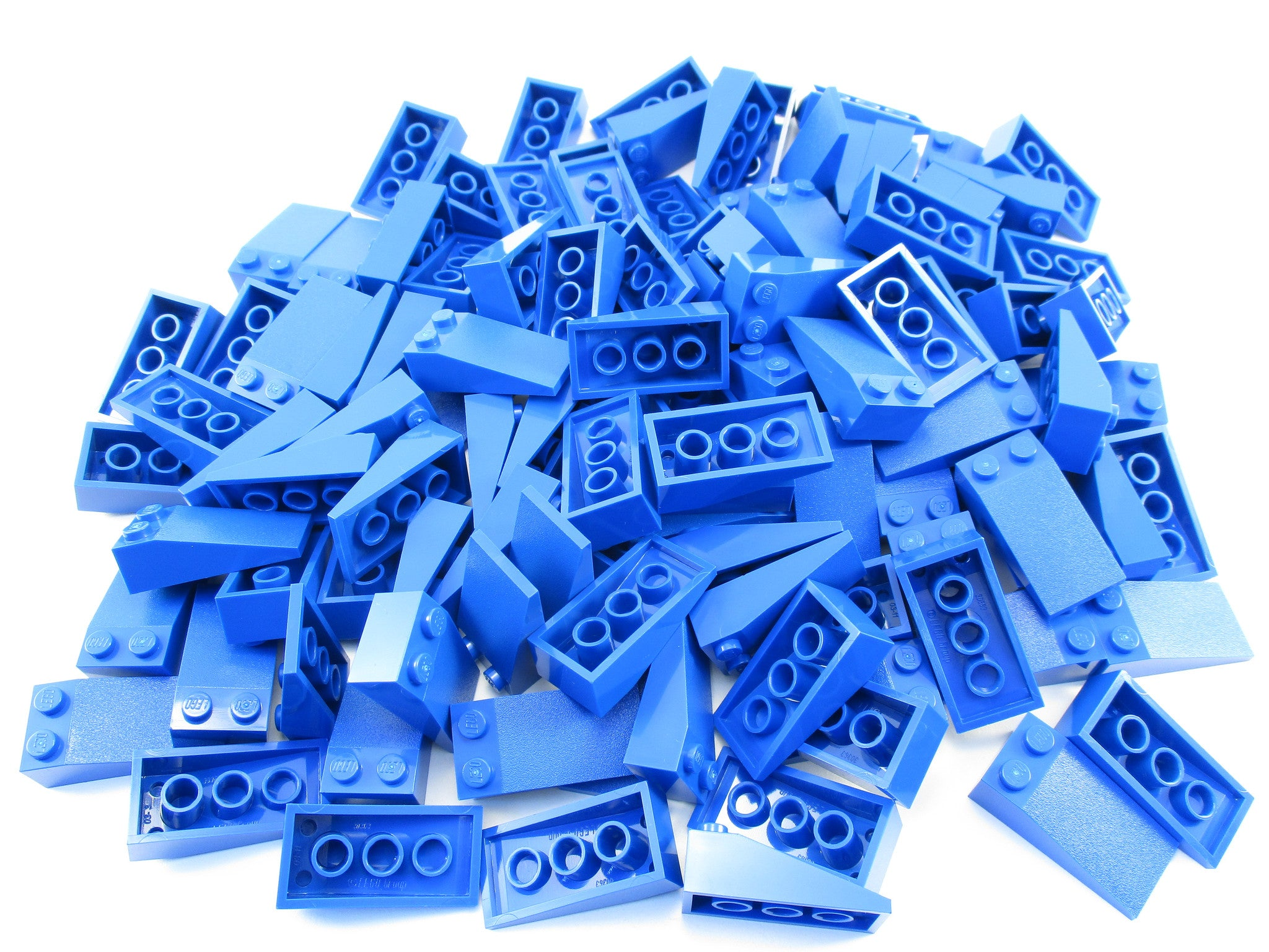 LEGO Blue Slope 18 4x2 Lot of 50 Parts Pieces 30363