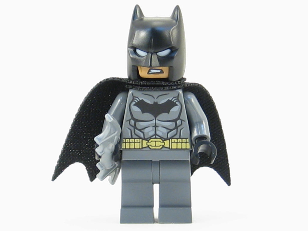LEGO DC Super Heroes Batman Minifigure Mini Fig 76053 Silver Batarang