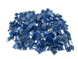 LEGO Dark Blue Slope Curved 2x2 No Studs Lot of 100 Parts Pieces 15068