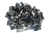 LEGO Black Bracket 5x2x1 1/3 with 2 Holes Lot of 100 Parts Pieces 11215