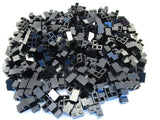 LEGO Black Brick 2x2 Corner Lot of 100 Parts Pieces 2357