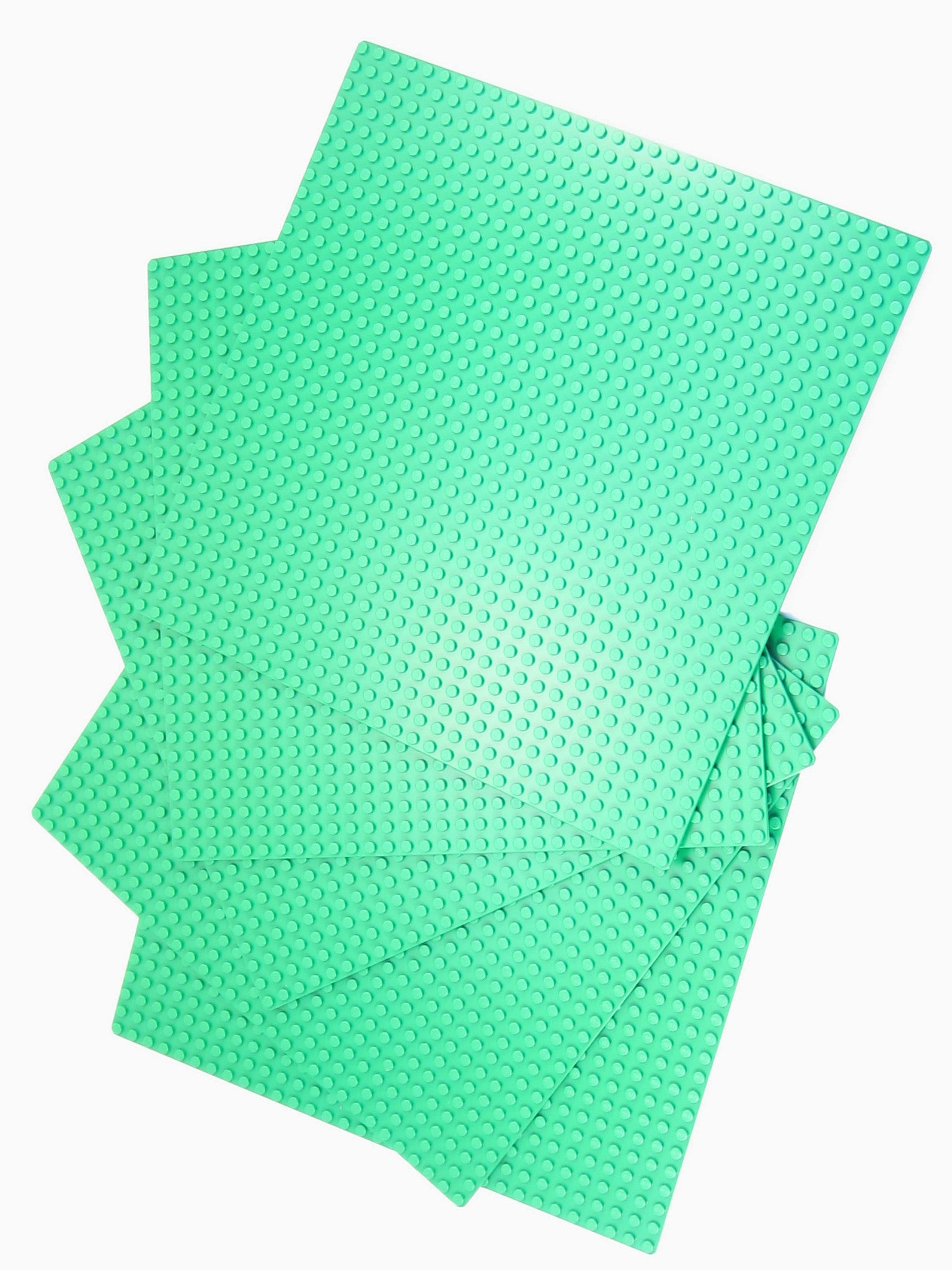 LEGO Green Baseplate 32x32 Lot of 5 Parts Pieces 3811 Base Plate