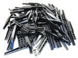 LEGO Black Slope Curved 10x1 Lot of 100 Parts Pieces 85970