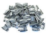 LEGO Dark Bluish Gray Wedge 6x4 Inverted Curved Lot of 100 Parts Pieces 43713