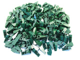 LEGO Dark Green Slope Inverted 33 3x1 Lot of 100 Parts Pieces 4287