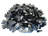 LEGO Black Slope 65 2x1x2 Lot of 100 Parts Pieces 60481