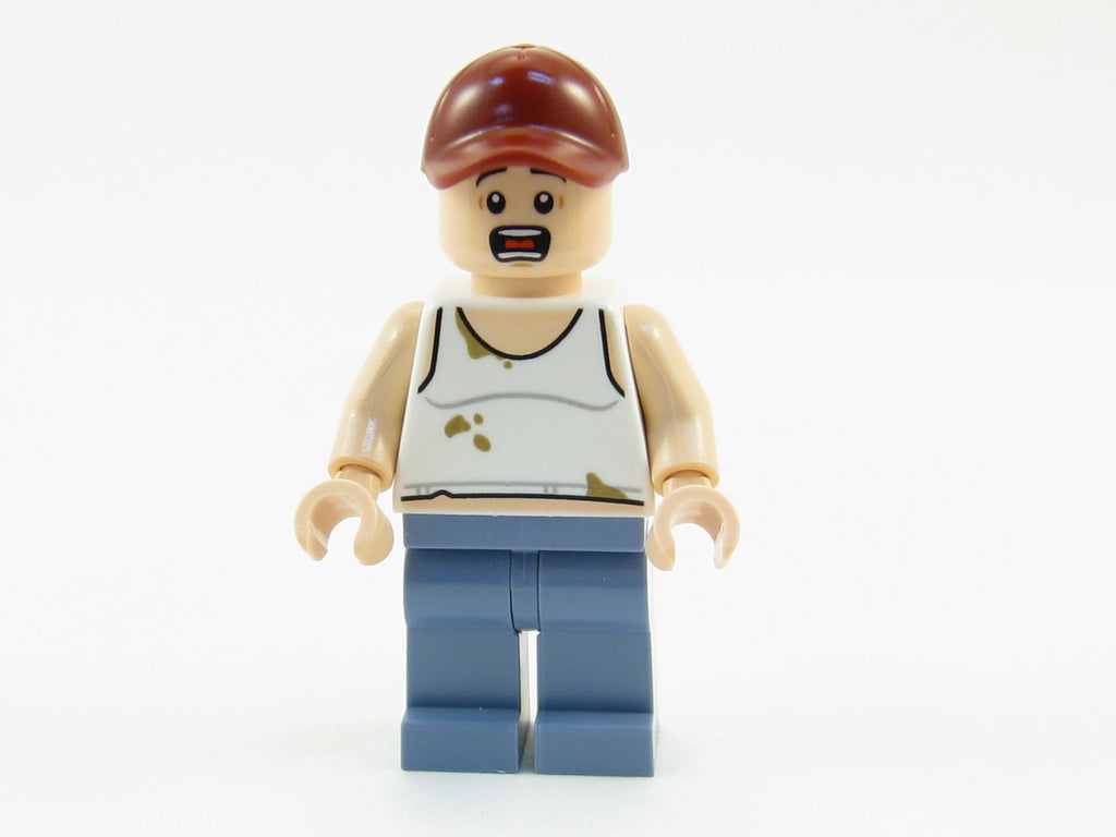 LEGO DC Super Heroes Farmer Minifigure 76054 Mini Fig