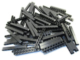 LEGO Black Technic Liftarm 1x9 Thick Lot of 50 Parts Pieces 40490