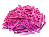 LEGO Magenta Tile 1x8 Lot of 100 Parts Pieces 4162