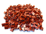 LEGO Dark Red Slope Inverted 45 2x2 Lot of 100 Parts Pieces 3660