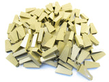 LEGO Dark Tan Slope 75 2x1x3 Lot of 100 Parts Pieces 4460b