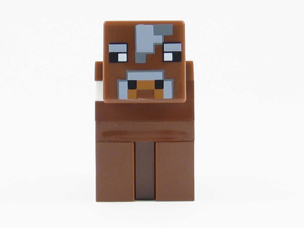 LEGO Minecraft Brown Cow Minifigure Farm Animal Mini Fig