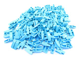 LEGO Medium Azure Slope Curved 3x1 No Studs Lot of 100 Parts Pieces 50950