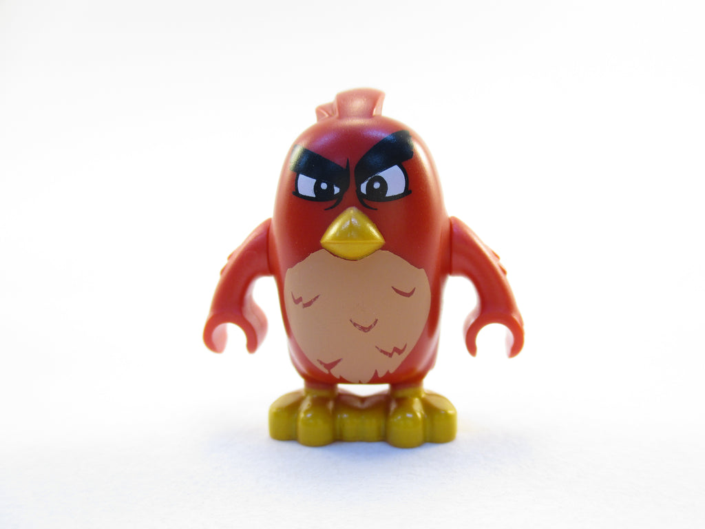 LEGO The Angry Birds Movie Red Bird Minifigure 75823 Mini Fig
