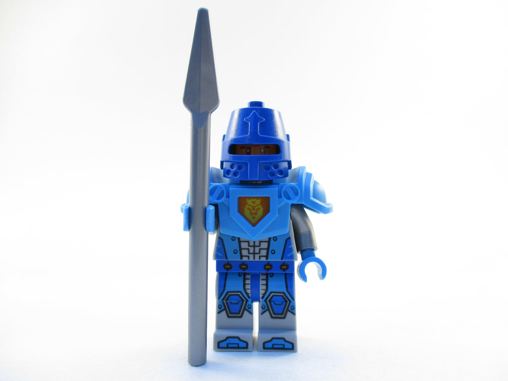 LEGO Nexo Knights King's Guard Soldier Blue Minifigure 70318 Mini Fig