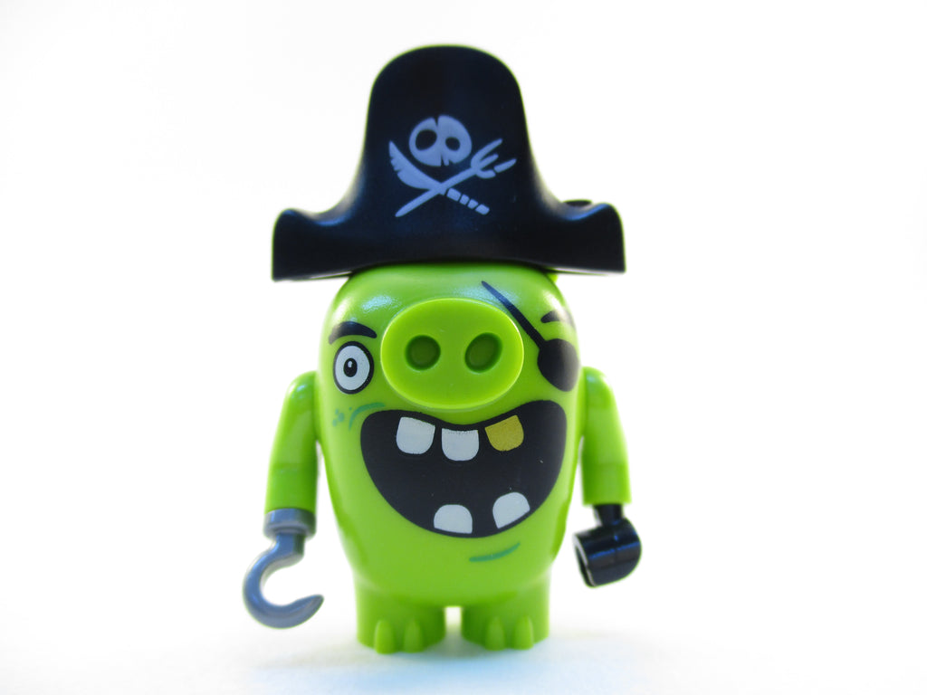 LEGO The Angry Birds Movie Pirate Pig Piggy Minifigure 75825 Mini Fig