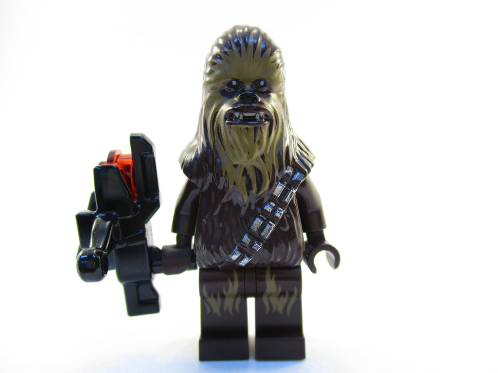 LEGO Star Wars Chewbacca Minifigure 75180 Mini Fig with Crossbow Chewie
