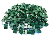 LEGO Dark Green Slope Inverted 45 2x2 Lot of 100 Parts Pieces 3660