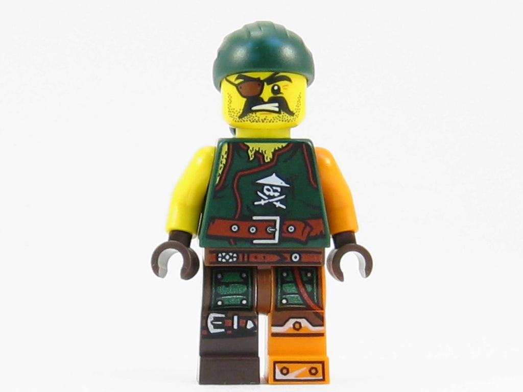 LEGO Ninjago Sqiffy Ninja Enemy Minifigure 70594 Mini Fig