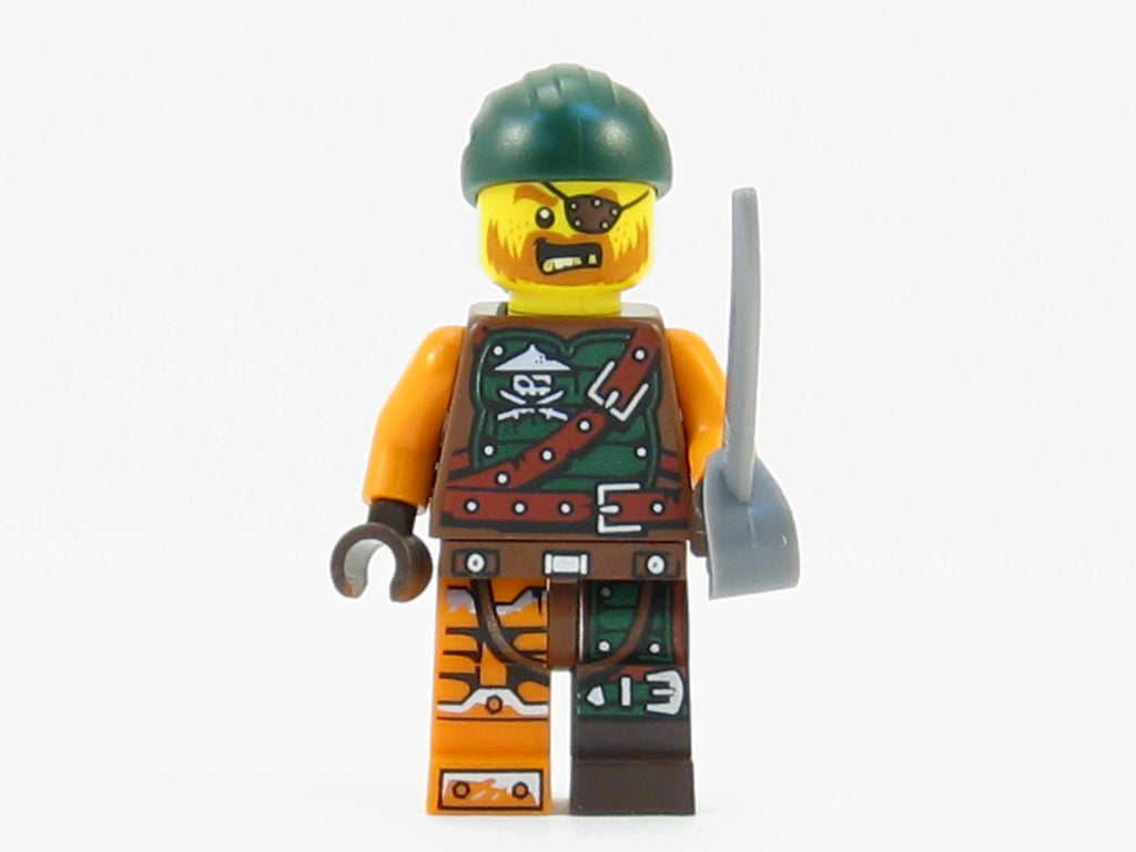 LEGO Ninjago Bucko Pirate Ninja Enemy Minifigure 70593 Mini Fig