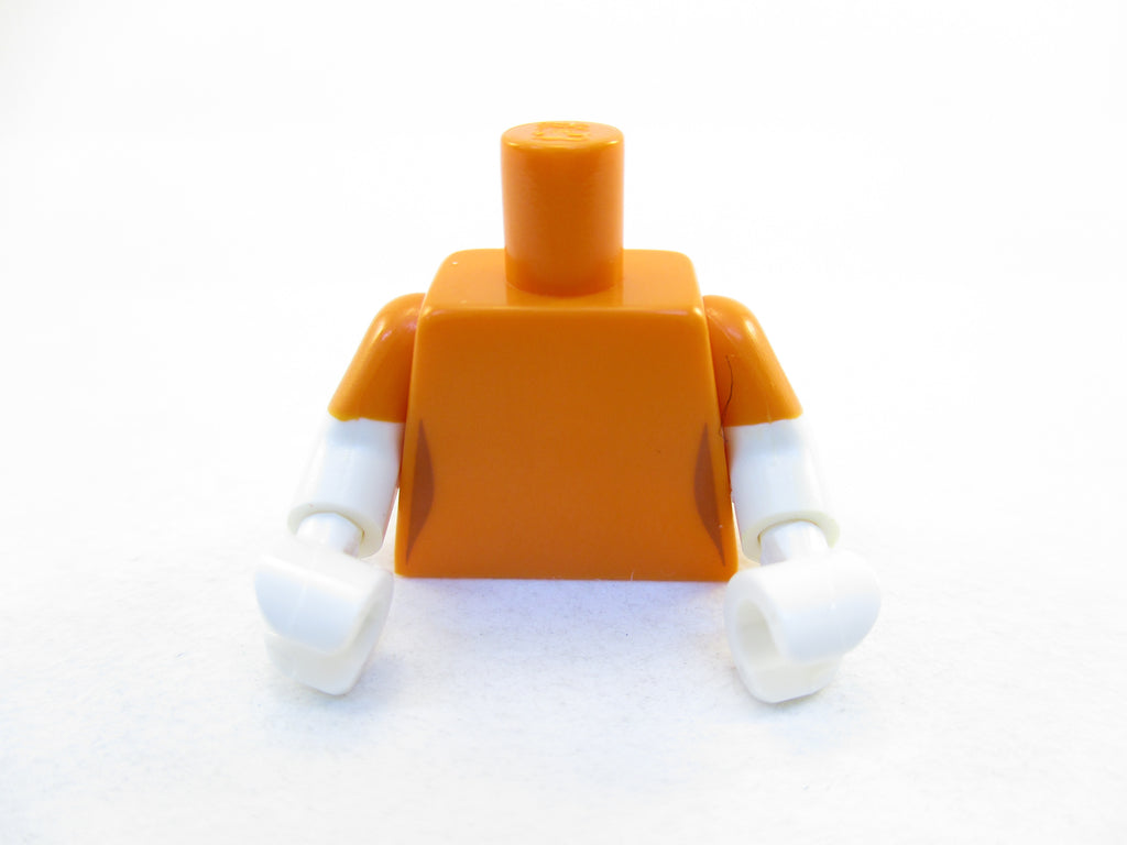 LEGO Orange Torso Simpsons Female Dark Orange Waist Lot of 1 Parts Pieces 973pb1995c01