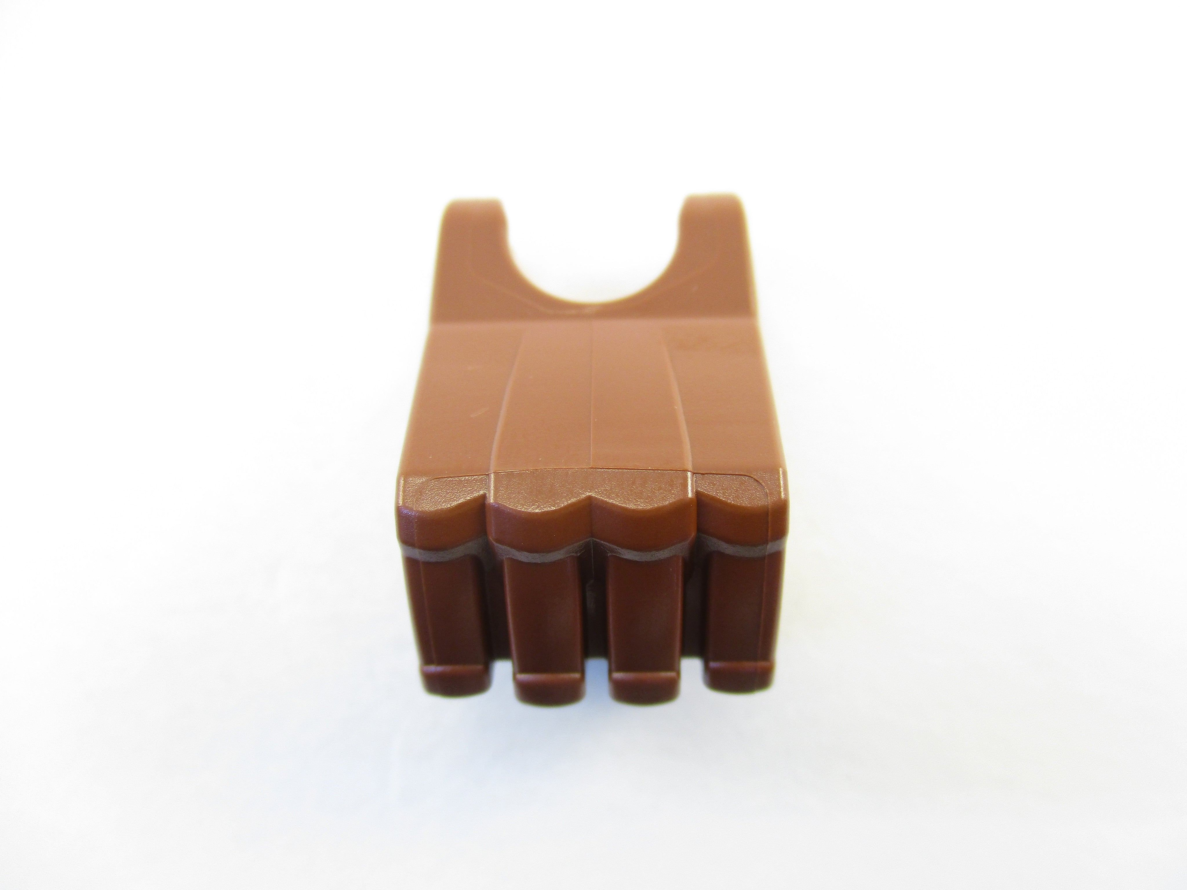 LEGO Reddish Brown Hero Factory Fist with Axle Hole 1 Part Piece 93575