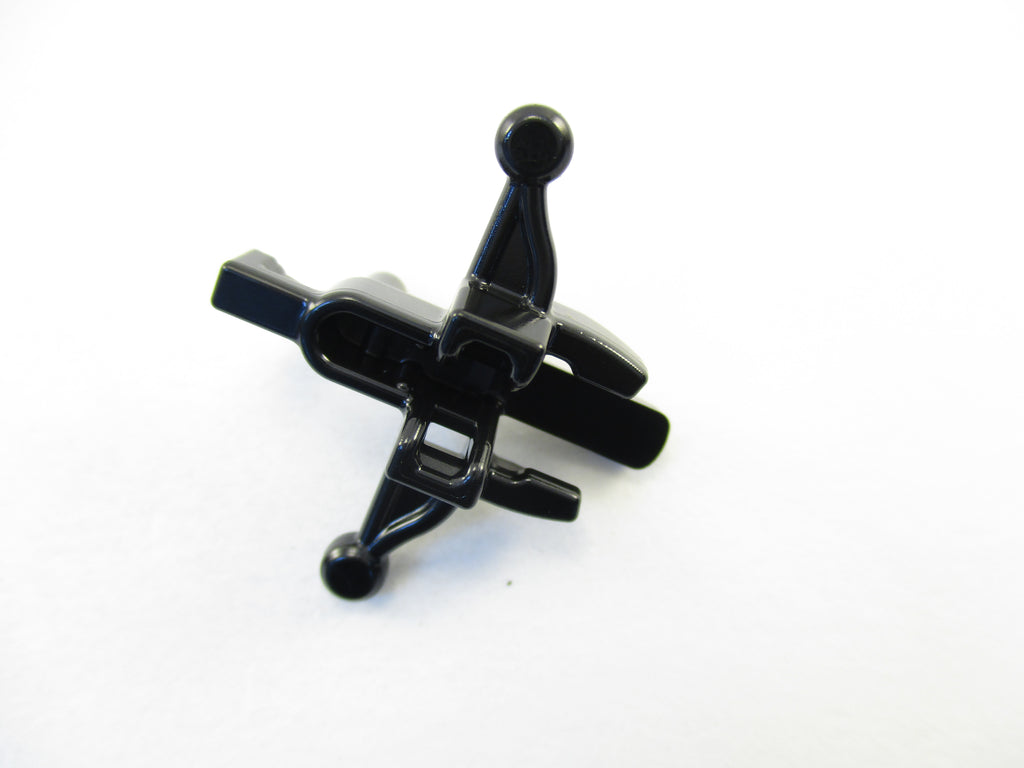 LEGO Black Minifig Weapon Crossbow Mini Blaster 1 Part Piece 20105