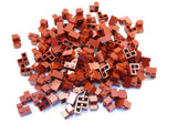 LEGO Dark Red Brick 2x2 Corner Lot of 100 Parts Pieces 2357