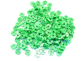 LEGO Bright Green Plate Round 2x2 with Axle Hole Lot of 100 Parts Pieces 4032