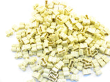 LEGO Tan Brick Modified 1x2 Log Lot of 100 Parts Pieces 30136
